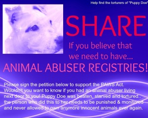 The case for Animal Abuser Registries.