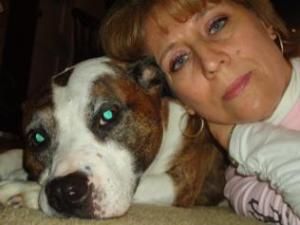 Puppy Doe Ambassadors - Mamie and her gorgeous Maggie. Cancer took baby Maggie from Mamie on 12-31-11 RIP Maggie xox
